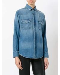 Camisa Vaquera Azul de Current/Elliott
