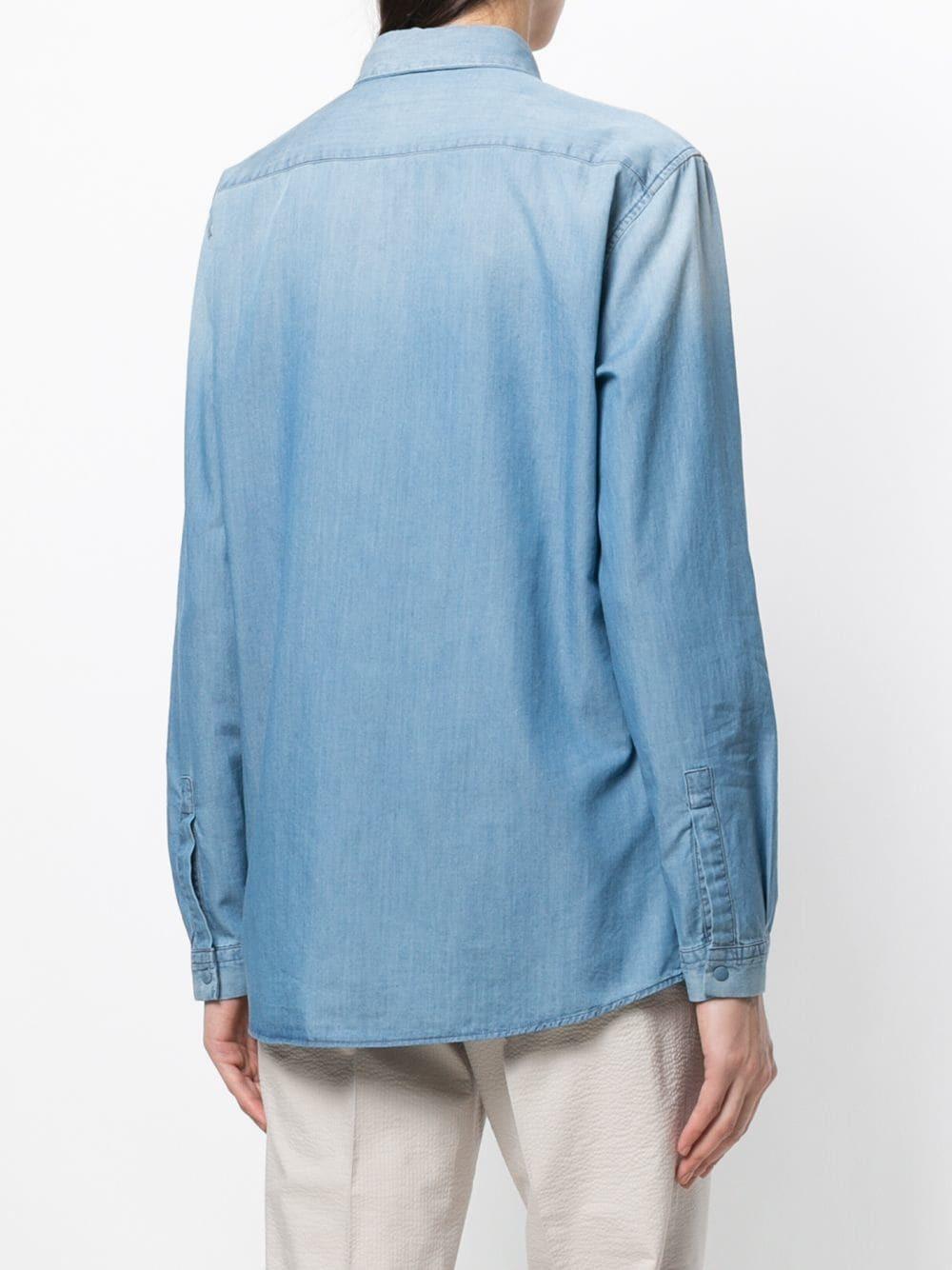 Camisa vaquera azul de Fabiana Filippi