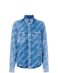 Camisa vaquera azul de Filles a papa