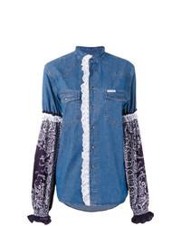 Camisa Vaquera Azul de Forte Dei Marmi Couture