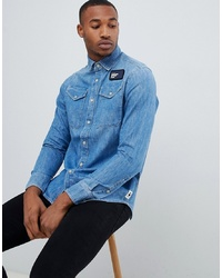 Camisa vaquera azul de G Star