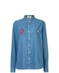 Camisa vaquera azul de G.V.G.V.Flat