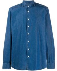 Camisa vaquera azul de Hackett