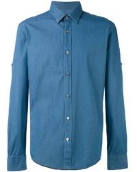 Camisa vaquera azul de Hugo Boss