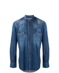 Camisa vaquera azul de Jacob Cohen