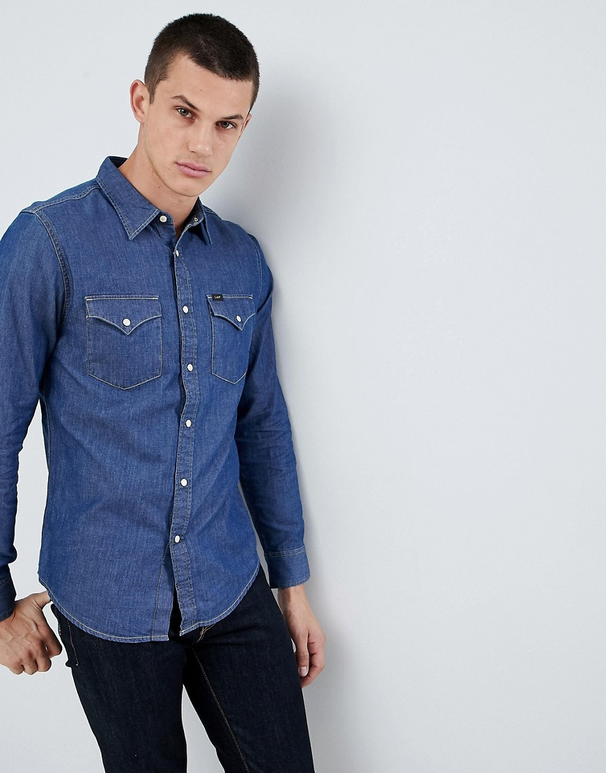 Camisa Vaquera Azul de Lee