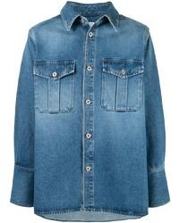 Camisa vaquera azul de Loewe