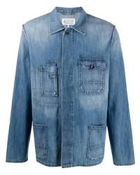 Camisa vaquera azul de Maison Margiela