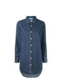 Camisa vaquera azul de MiH Jeans