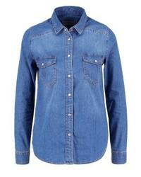 Camisa Vaquera Azul de New Look
