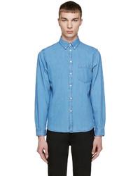 Camisa vaquera azul de Paul Smith