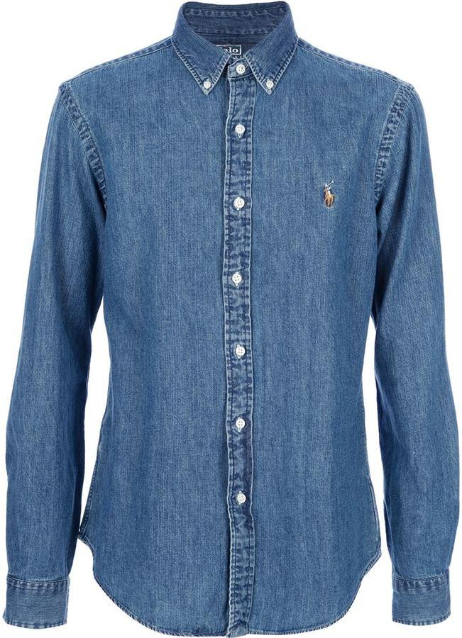 De Ralph Vaquera Camisa Azul Polo Lauren WDY29EHI