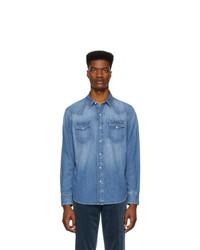 Camisa vaquera azul de Ralph Lauren Purple Label