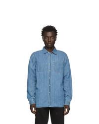 Camisa vaquera azul de Saturdays Nyc