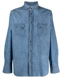 Camisa vaquera azul de Tagliatore