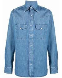 Camisa vaquera azul de Tom Ford