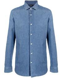 Camisa vaquera azul de Z Zegna