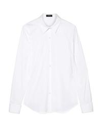 Camisa vaquera blanca de Theory