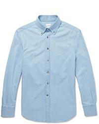Camisa vaquera celeste de Brunello Cucinelli