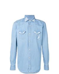 Camisa vaquera celeste de Eleventy