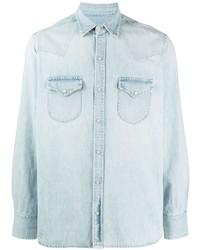 Camisa vaquera celeste de Fortela