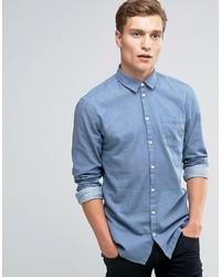 Camisa vaquera celeste de Minimum