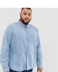 Camisa vaquera celeste de New Look