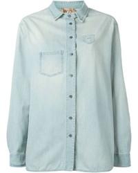 Camisa vaquera celeste de No.21