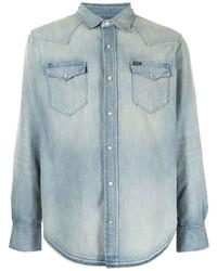 Camisa vaquera celeste de Polo Ralph Lauren