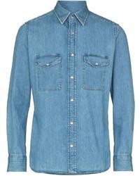 Camisa vaquera celeste de Tom Ford