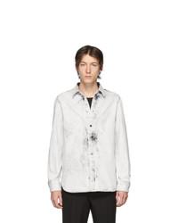 Camisa vaquera en blanco y negro de Stella McCartney