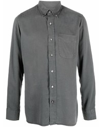 Camisa vaquera en gris oscuro de Tom Ford