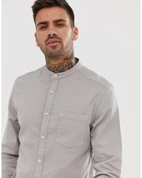 Camisa vaquera gris de ASOS DESIGN
