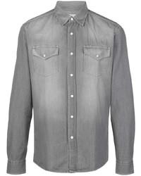 Camisa vaquera gris de Brunello Cucinelli