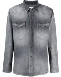 Camisa vaquera gris de Eleventy