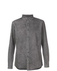 Camisa vaquera gris de Givenchy