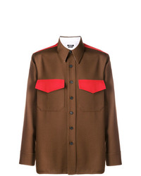 Camisa vaquera marrón de Calvin Klein 205W39nyc