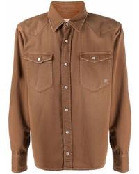 Camisa vaquera marrón de Eleventy