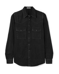 Camisa vaquera negra de Givenchy