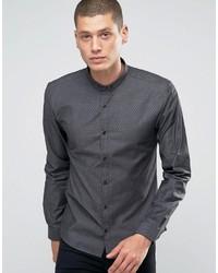 Camisa vaquera negra de Hugo Boss