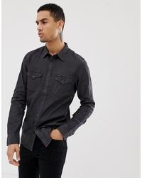 Camisa vaquera negra de Lee