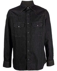 Camisa vaquera negra de Tom Ford