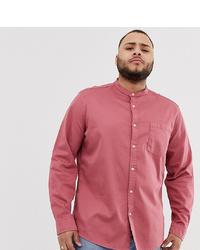 Camisa vaquera rosada de ASOS DESIGN