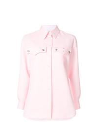 Camisa vaquera rosada de Calvin Klein 205W39nyc