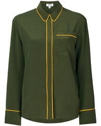 Camisa verde oliva de Kenzo