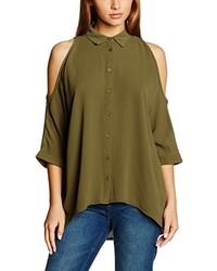 Camisa verde oliva de New Look