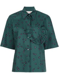 Camisa verde de Marni