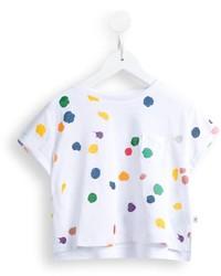 Camiseta a lunares blanca de Stella McCartney