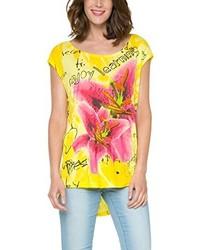 Camiseta Amarilla de Desigual