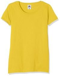Camiseta Amarilla de Fruit of the Loom